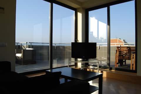 Penthouse stanovanje z velikim terr