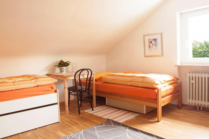 Zimmer in Zähringen am Waldrand - Friburgo - Casa