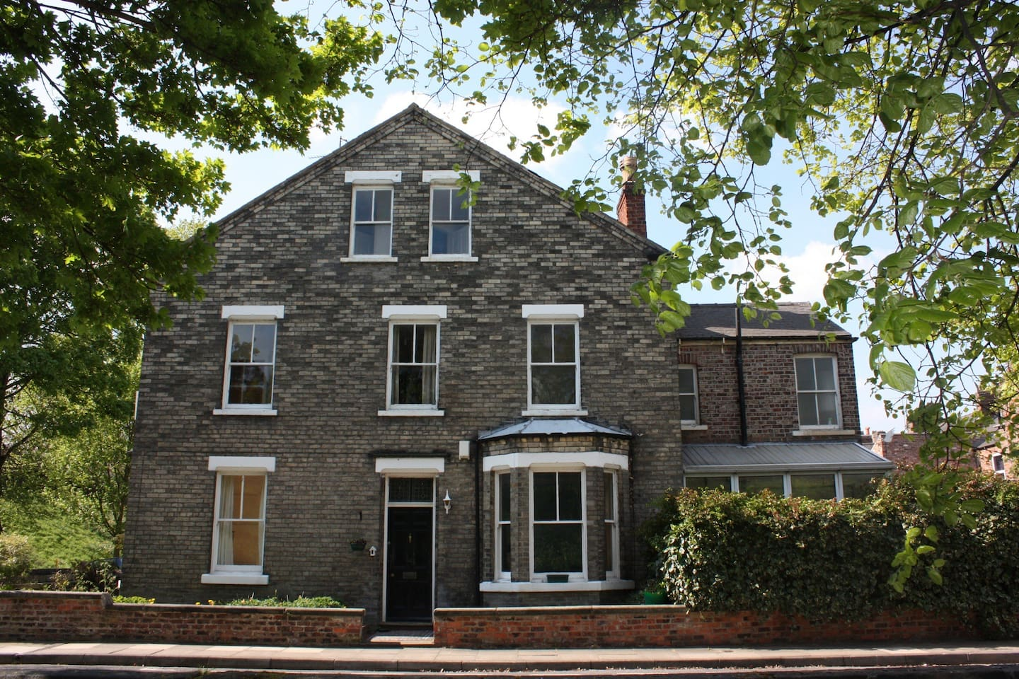 Large 5 bedroom house on the corner of Newton Terrace and Baile Hill Terrace. Originally build in the 1890's. Parking on the street in front of our house