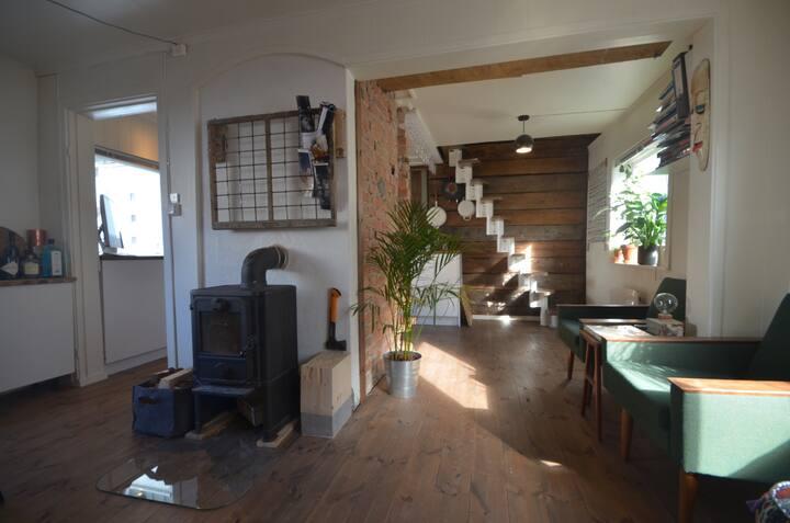 Cosy traditional house in Øvre Baklandet Trondheim