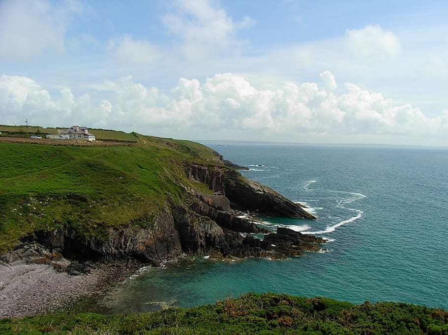 The amazing Pembrokeshire Coastline, only 1 mile away.