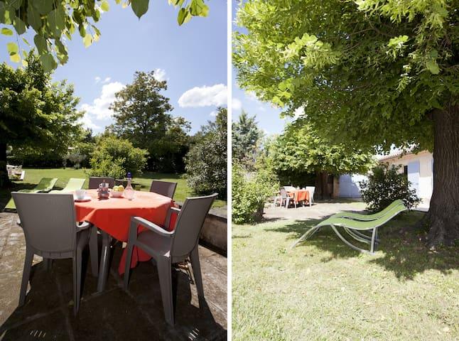 Cottage 2/4p-St Rémy-Avignon-Arles - Saint-Étienne-du-Grès - บ้าน