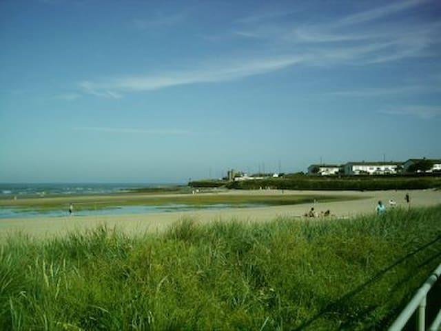 Malahide Beach.