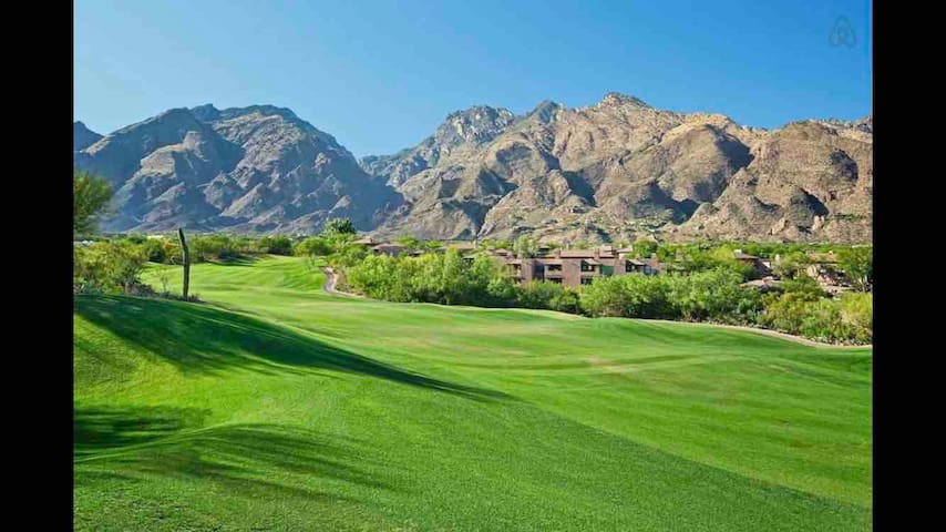 Ventana Canyon Golf Course Condo