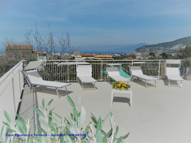 LaTerrazza Vacation Rental, up to 13 guests - Sant'Agnello - Hus