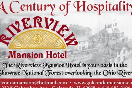 Riverview Mansion Hotel & The Levee Lounge - Golconda