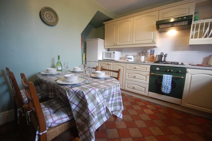 Setrah Cottage; cosy 18th century stone cottage with original features and open fire