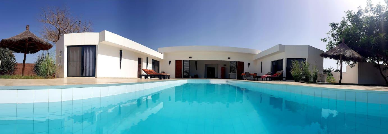 "Villa moderne "" Keur Kawan "" repos assuré"