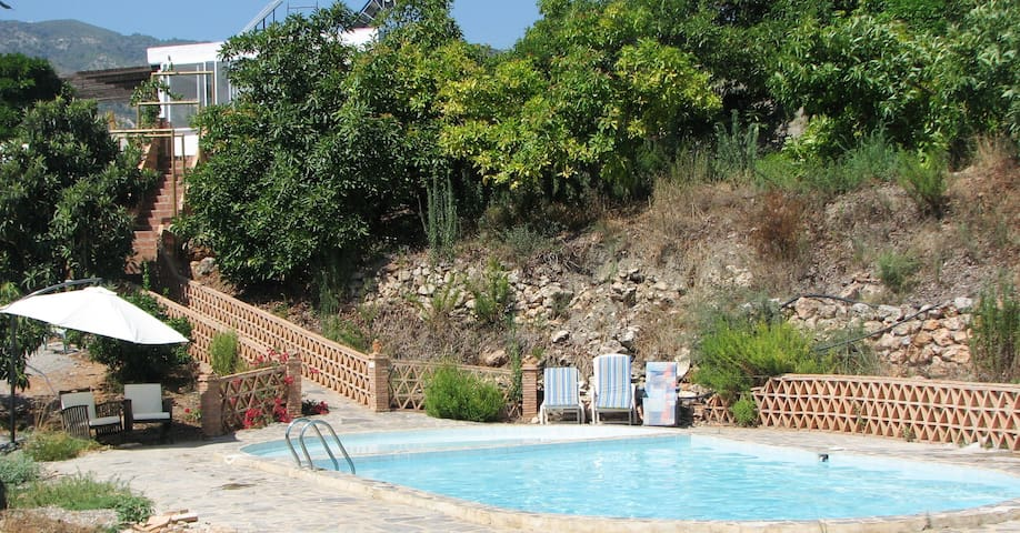 Traditional Cortigo, swimming pool - Málaga