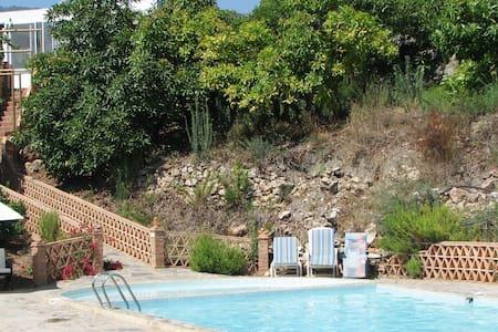 Traditional Cortigo, swimming pool - Malaga - Cabane
