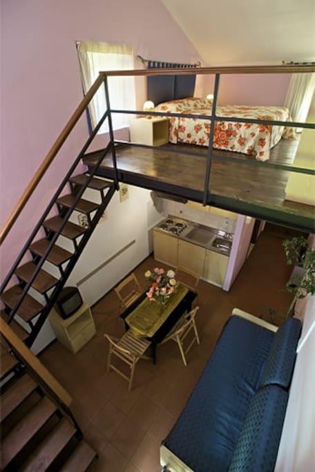 Uno degli appartamenti