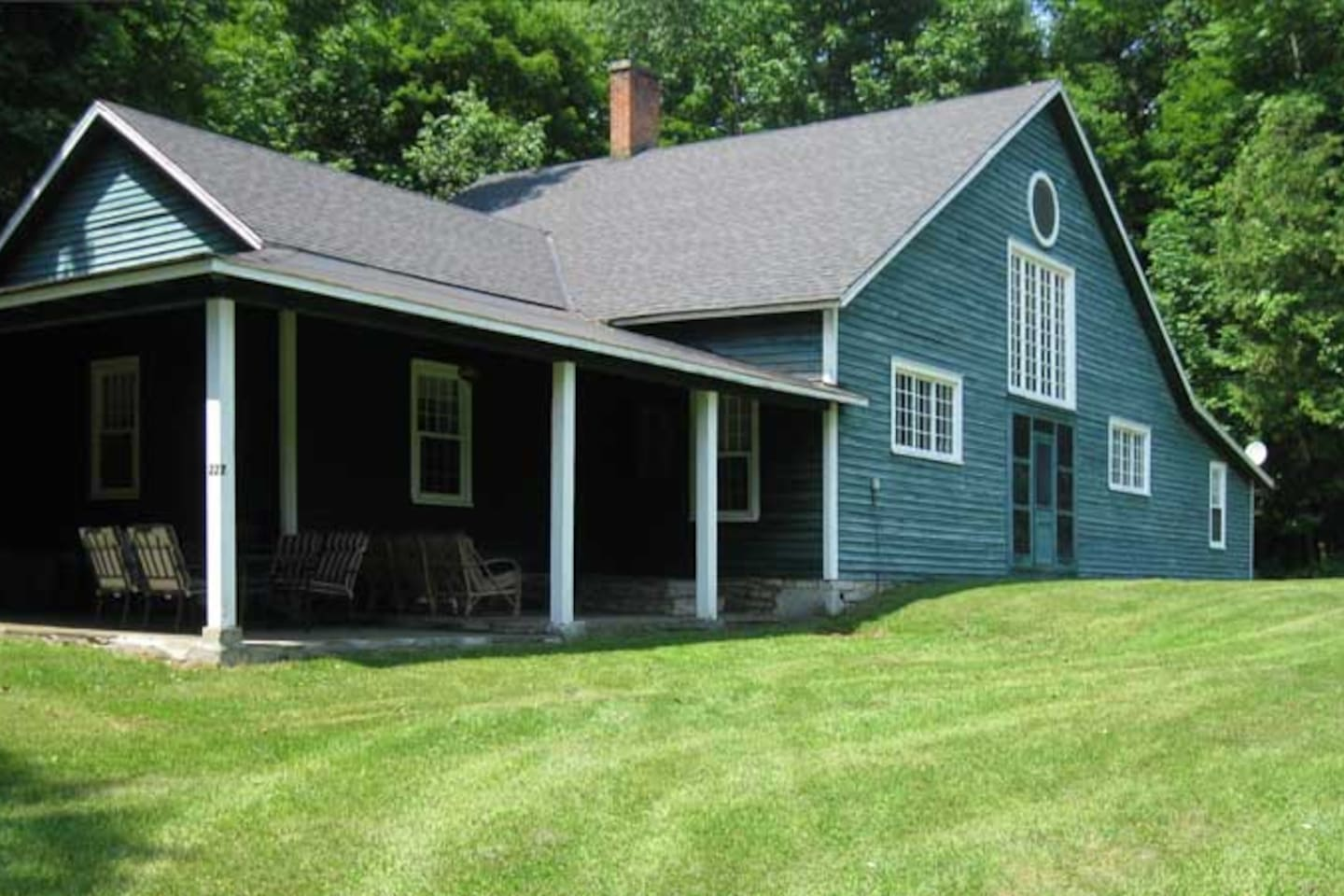 Phoenix Cottage is a Vintage Treasure, converted carriage house on the grounds of Otsego Golf Club