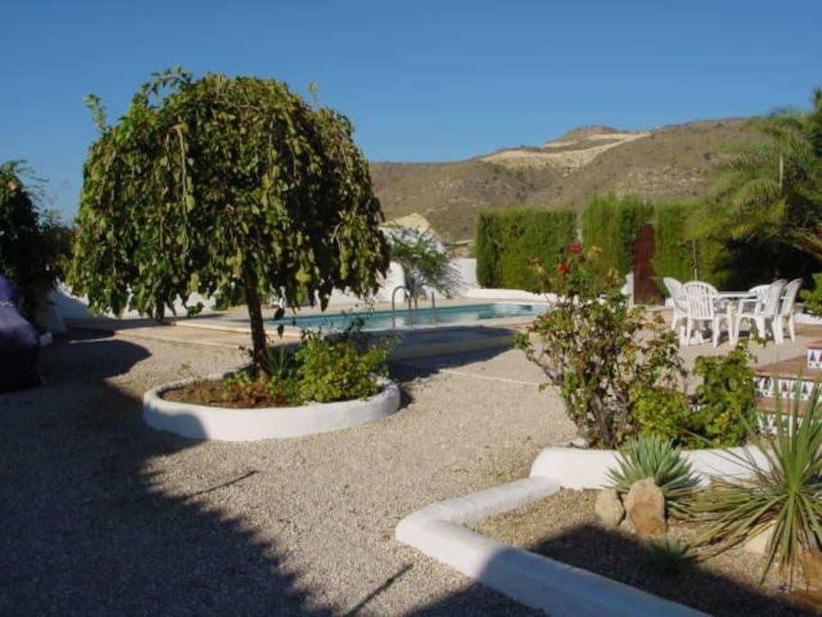 Casa heistad villa con piscina casas en alquiler en el for Camping con piscina climatizada en comunidad valenciana