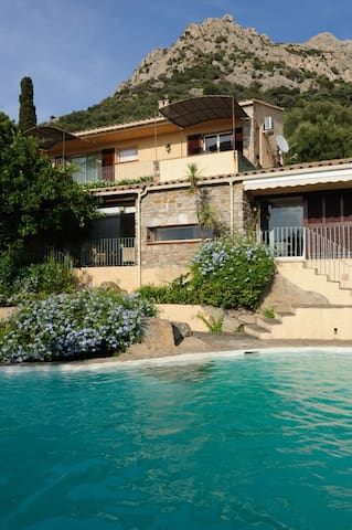 Villa Les Amandiers,350m²,10people - Lumio - Vila
