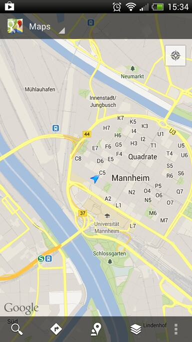 Mannheim Central - room 1-4 persons