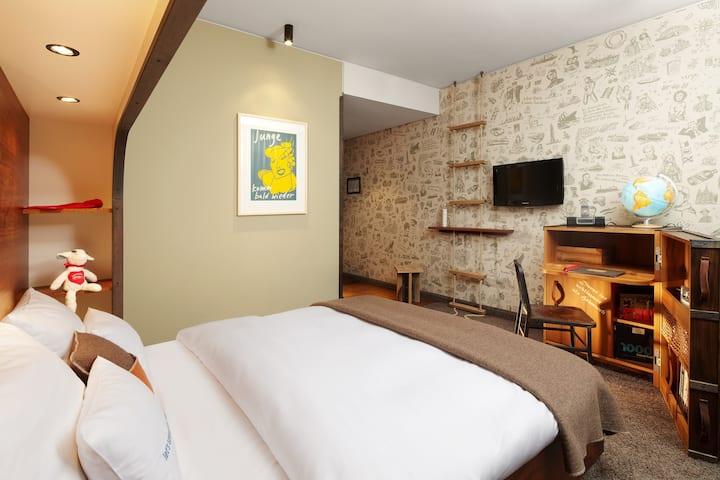 Medium Plus Room at the 25hours Hafencity