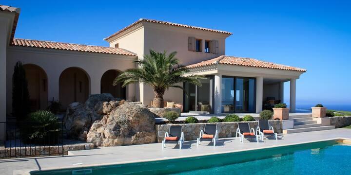 Villa Vista Piana, 285m², 10 people