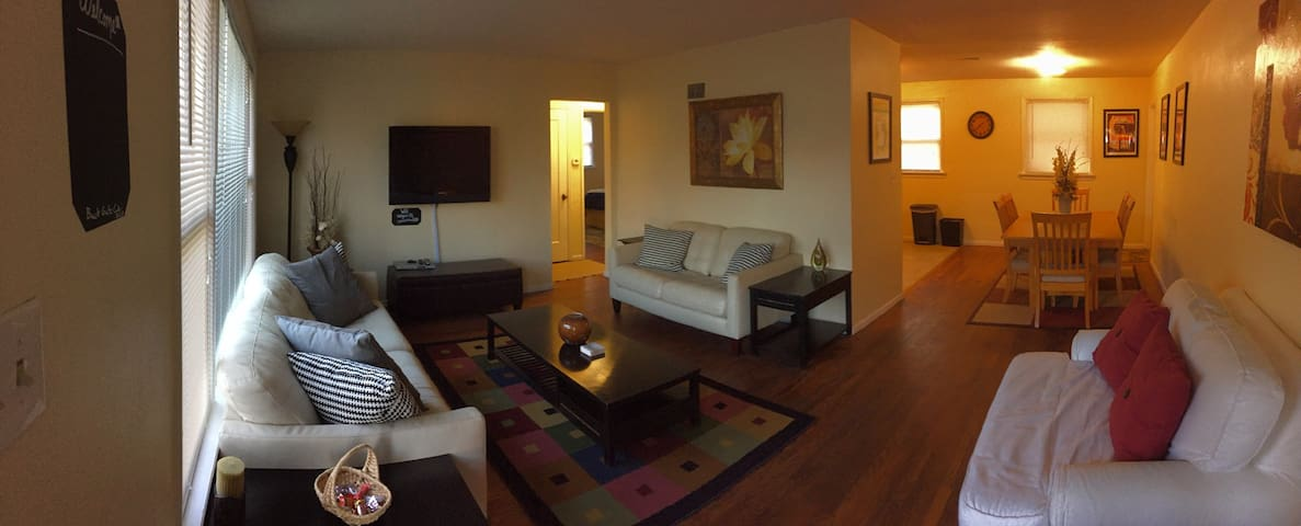 Bright Cozy Home Near Delmar Loop - University City - Hus