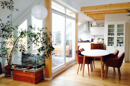 Sunny Penthouse in Prenzlauer Berg
