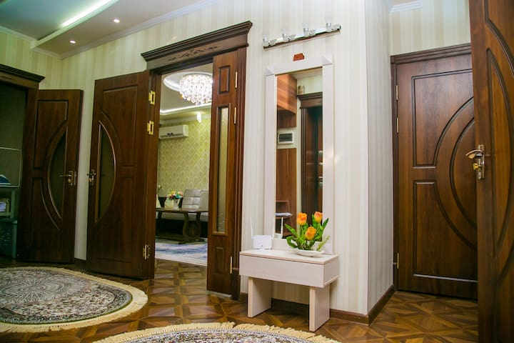 Centrally located apartment - 100m2
