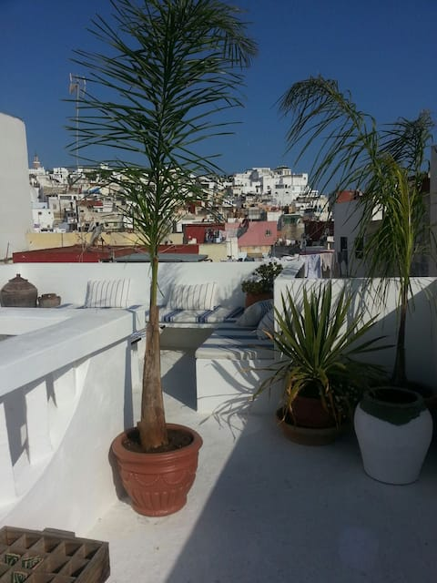 Room in a wonderful house in tanger