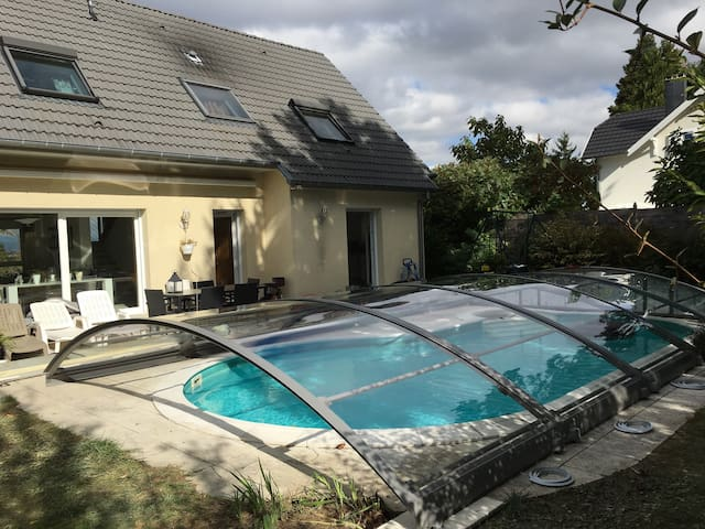 Maison complète 4 chambres - Full house 4 bedrooms - Mulhouse - House
