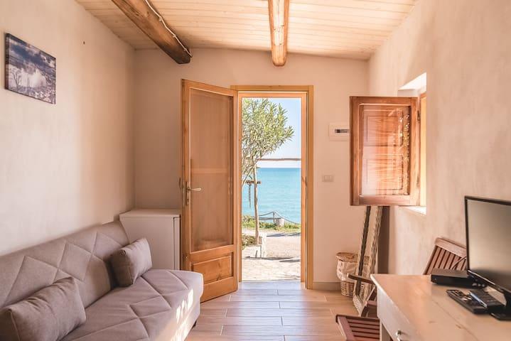 Casetta sul mare al Trabucco da Mimi - San Nicola - Bungalow