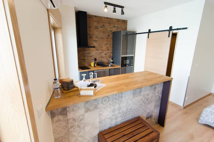 Stylish Loft Loft Near D Luíz Bridge - 5 min walk