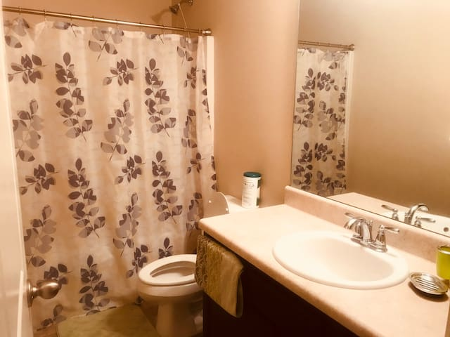 Private bathroom right next to your bedroom