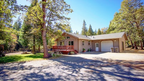 ♥Secluded Getaway on 2 Acres Near Mt Lassen Park ♥