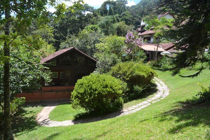 Chalé aconchegante na Serra - Teresópolis - Huis
