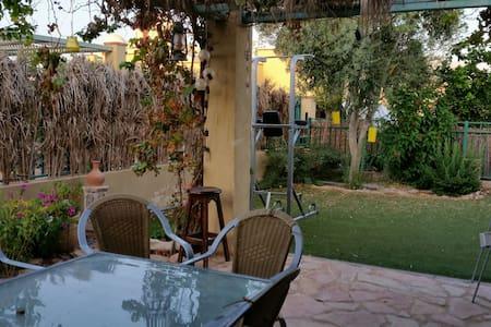 Homy villa in desert gate - באר אורה beer ora - Ház