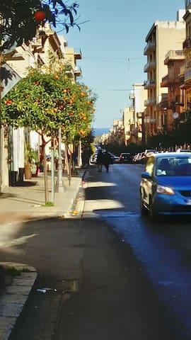 Plein centre agréable duplex au charme sicilien