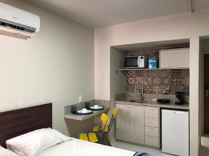 837 - Flat confortável no centro de Brasília