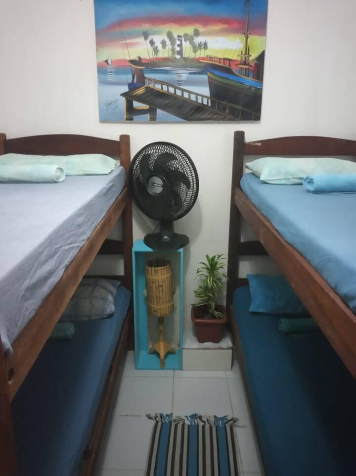 Lindo quarto de casal em Porto de Galinhas