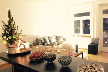 schönes zimmer in jugendstilwohnung - Sankt Gallen - Apartament