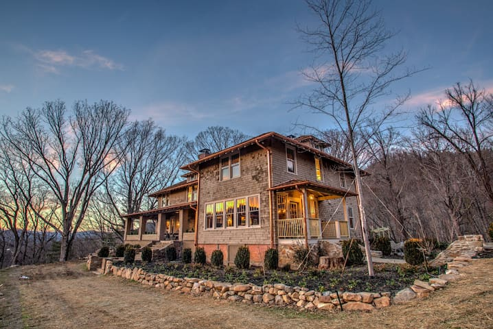 Historic Ellerson House Mountain Escape w/ Hot Tub! Asheville, Hot Springs - Hot Springs