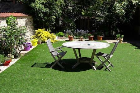 maison de ville avec jardin privé - Adosado