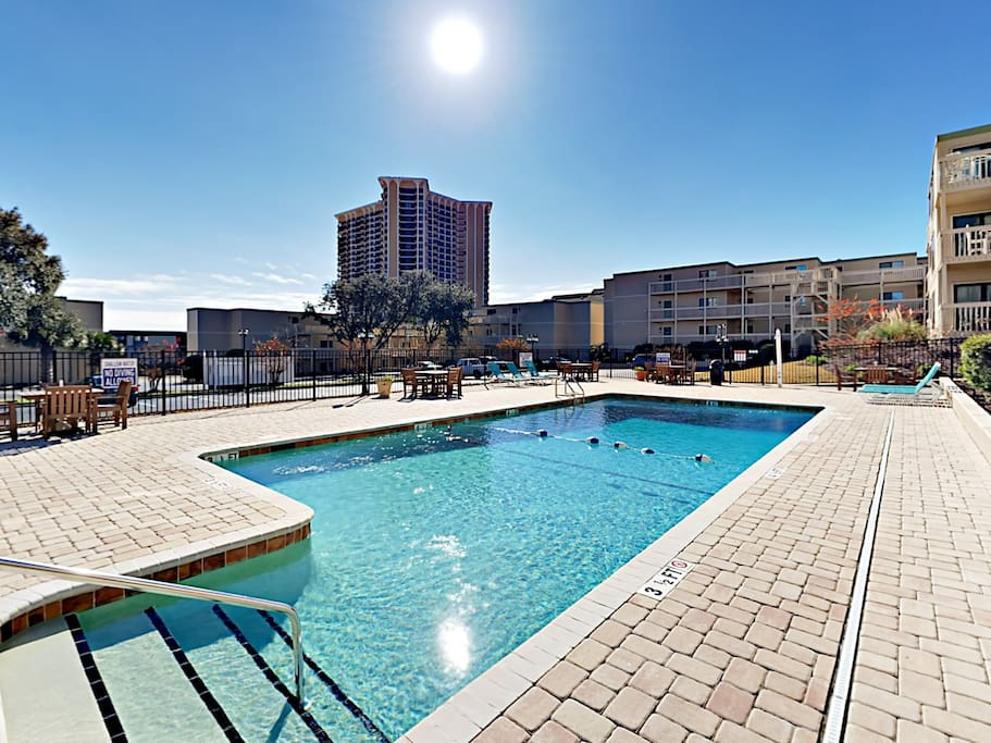 This top-floor condo is professionally managed by TurnKey Vacation Rentals.