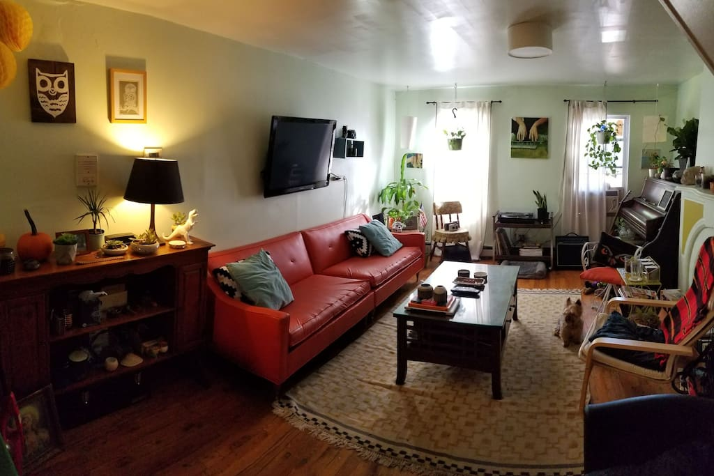 current view of living room (2017)
