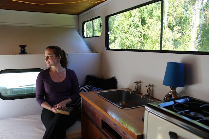 """Indy"" the native bush glampervan - Greymouth - Karavan"