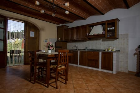 Two bedroomed apartment in the heart of Tuscany! - Peccioli - 公寓