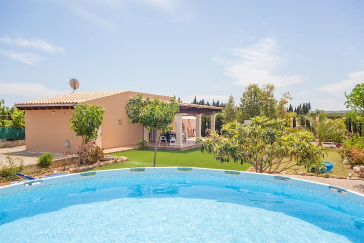 SES CANYES - Apartment with private pool in MURO.