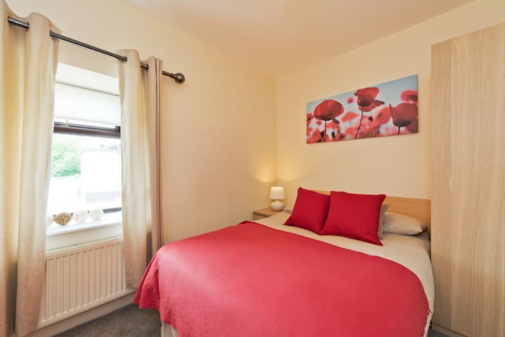 Bedroom No 2 has a super comfortable large double bed.