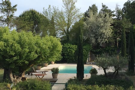 Nice house with pool in Luberon / Maison Luberon - La Tour-d'Aigues - Rumah