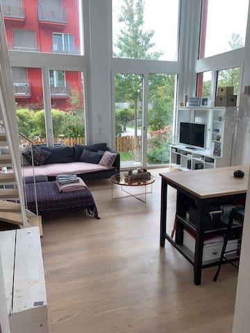 Loft apartment near Olympia Park