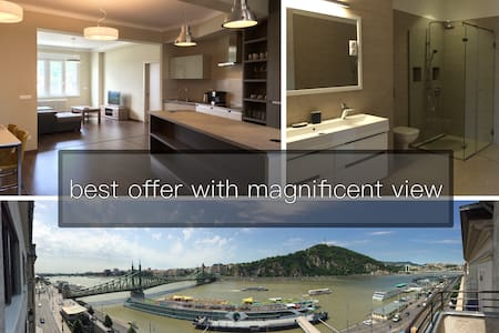 empire of liberty | luxury | danube and hill view - Budapest - Appartement
