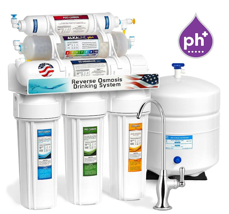 Best drinking water - Alkaline reverse osmosis water.  Brand new and ready to hydrate.