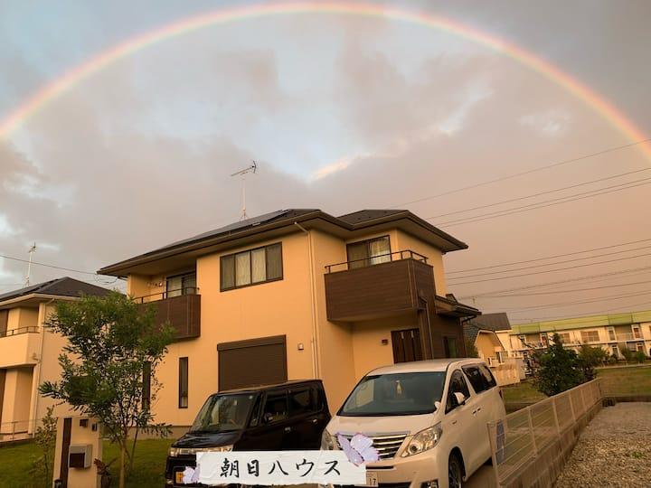 【那須高原別邸】/新築一棟貸切/ご家族グループ向け/P3台