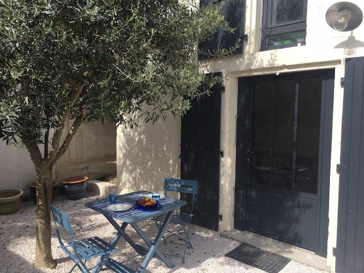 Charmante maison, calme et verdure à  La Rochelle